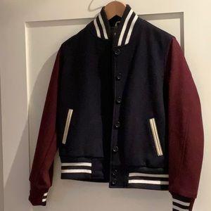 "J Crew ""Letterman"" jacket"